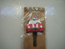 Key Caps Red Mini Cooper Yale Key Novelty Gift Free UK Post £2.95