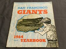 San Francisco Giants 1964 Yearbook Players & Stories Willie Mays, Player Roster