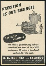 1947 Jennings Chief slot machine Native American Indian art trade print ad #3