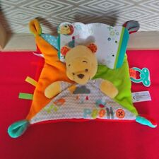 Disney Winnie L'ourson Doudou plat Carré Jaune 5871910