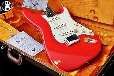 ✯ cunetto ✯ Fender USA Custom Shop anni 1960 RELIQUIA Strat ✯ Fiesta Rosso ✯ 1997 ✯ John Cruz ✯