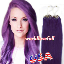 Micro Loop Human Hair Extensions Micro Ring Micro Beads Real Remy Hair 100S 200S