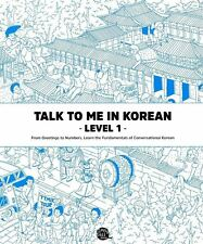 Talk To Me In Korean Level 1 TTMIK Grammar Textbook Hangul Self Study Beginner