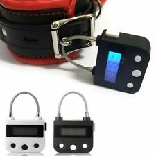 Rechargeable Electronic Timer Padlock | FAST SHIPPING from UK | Black or White