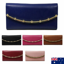 Leather Trifold Coins & Money Wallets for Women