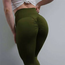 Sexy Women Butt Lift Yoga Pants High Waist Leggings Running Gym Scrunch Trousers