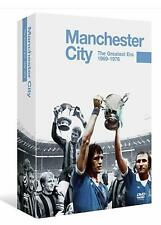 Manchester City: The Greatest Era 1969-1979 (DVD, 4-Disk Set)(Brand New, Sealed)