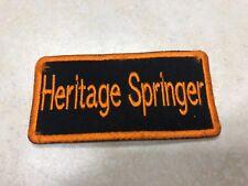HARLEY DAVIDSON Heritage Springer Patch