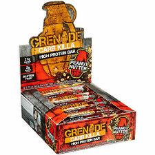 Grenade Carb Killa Peanut 60g Protein Bar 12 Pieces