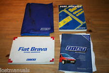 FIAT BRAVA OWNERS MANUAL / USER HANDBOOK WALLET, 95-2001, AUDIO MANUAL, SERVICE