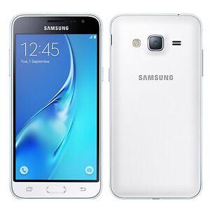 Samsung Galaxy J3 2016 Quad Core 2GB RAM 8GB 5 Inch Smartphone - White...