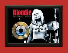 Blondie Poster Art Wood Framed 45 Gold Record Display C3