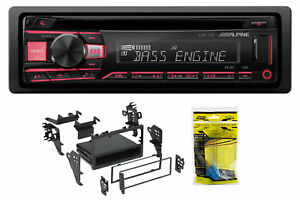 ALPINE CD Receiver Stereo Android/MP3/WMA/USB/AUX For 05 Honda Civic SE