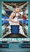 PANINI DUNK APP LUKA DONCIC Select Sparks Rookie Jersey Patch DIGITAL CARD