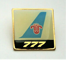 China Southern Airline 777 Jets Commercial Jet Plane 1990s Promo Pin New NOS