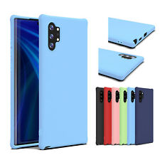 For Samsung Galaxy S20 Plus/A51/Note 10 Soft TPU Silicone Protective Case Cover