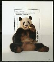 GHANA 2018 NATIONAL GEOGRAPHIC GIANT PANDA SOUVENIR SHEET MINT NEVER HINGED