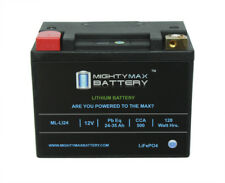 Mighty Max Lithium Iron Phosphate 12V 35AH 480CCA Starting Battery for Golf Cart