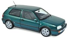 Norev Volkswagen golf VR6 1996 Green Metallic escala 1 18