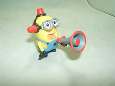 Despicable Me Fireman Figure With Bullhorn Very Hard To Find! Displayed only!!