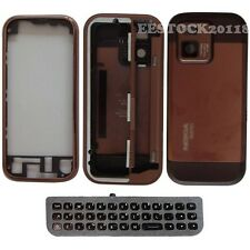 Nokia N97 Mini Coffee Fascia Full Housing Case Cover Brown Faceplate Keypad +TLs