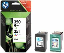 New Original HP 350 351 Black & Colour Combo for HP Photosmart  C5200 (SD412EE)