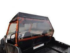 """Polaris RZR,and 2011and UpRZR S, Clear Rear  Windshield Hard Panel...1/4 THICK"""""""
