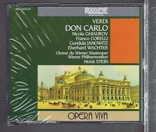 VERDI 3 CDS SET NEW DON CARLO - HORST STEIN- FRANCO CORELLI