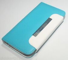 Flip PU Leather Case With Screen Protector For Apple iPhone 4 4S