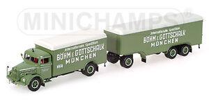 MINICHAMPS 1/43 CAMION MAN F8 BOHM serie limitée 756 exemplaires!