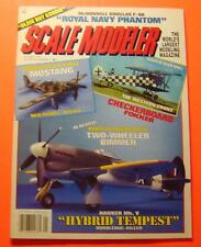 SCALE MODELER MAGAZINE JAN/1994..DOMINICAN AIR FORCE MUSTANG...THE WESTERN FRONT