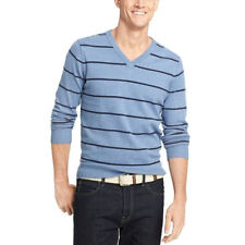 d5780fddff6583 IZOD Men's Size 2xl Colony Blue Stripe Long Sleeve Basic Sweater Top