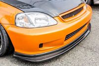 Front lip TAKTIKAL ART Style  ABS for Civic 99-00 (Fit 96-98) Ek JDM Type-r