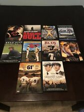 Lot of 10 Sports Movies