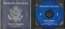 "MICHAEL STANLEY ""Live In Tangiers"" The Acoustic Shows 2 CD set (Razor & Tie)"