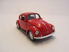 Welly VW Beetle ( Käfer) / Rot / Rückzugmotor / Druckgussmodel / 1:39 / OVP