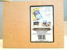 Diy Crafting Picture Frame 9 x 7 Holds 4 x 6 Photo Scrapbook Craft Project New