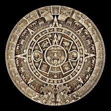 Wandrelief - Azteken Kalender rund - Wand Deko Maya Fantasy