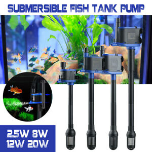 3 in 1 Pump Water Feature Fish Aquarium Tank Waterfall Circulation Oxygen Filter