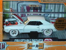 M2 MACHINES 1969 69 CHEVY CAMARO White w/ Red Stripe 2011 LIMITED to 1/492