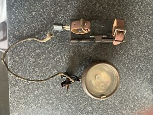 Vintage Front Bicycle Lamp Light With Battery Box