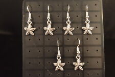 Lot of 3 Pairs Small  STARFISH  EARRINGS  Brand New! Fashion Jewelry USA SELLER!