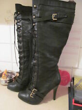Zip Knee High Stiletto Boots NEXT Shoes for Women