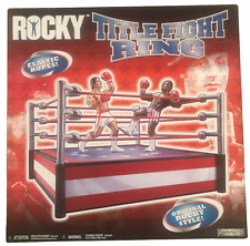 Rocky Title Fight Ring For Action Figures NEW 2006 Jakks Pacific Stallone Movie