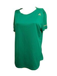 Adidas Climalite Women X-LARGE Running Athletic Short-sleeve T-SHIRT(#m6