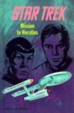 1991 Star Trek: Mission to Horatius Novel- Hardcover Book- Facsimilie- UNREAD