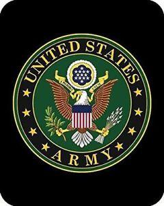 Queen US Army Emblem American Military Mink Faux Fur Fleece Blanket Super Plush