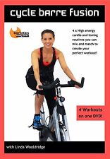 Cycle Bike Cycling DVD - Barlates Body Blitz CYCLE BARRE FUSION 4 Workou!