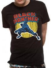 Marvel Comics Camiseta Top Para Hombre Vintage De Mercancía Con Licencia Pantera Negra L