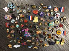 80 + Assorted Lapel Hat Pins Badges